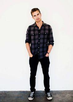 Man Fashion on ... Four Divergent Actor No Shirt
