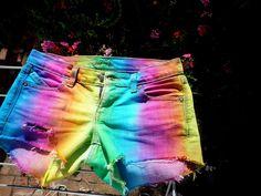 My 1st DIY shorts =)