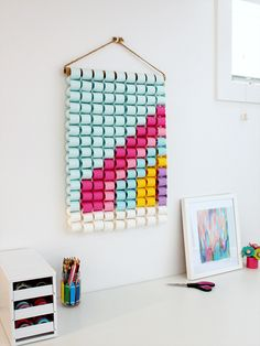 Time for some Fresh and Trendy DIY Crafts To Make This Weekend. So many inspirational Crafts are waiting for you to choose from. Easy Paper Crafts, Diy Paper, Crafts To Make, Crafts For Kids, Arts And Crafts, Diy Crafts, Craft Projects For Adults, Crafts Cheap, Craft Ideas