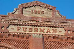 Fancy Brickwork - Humboldt, Kansas | View Large, on Black to… | Flickr