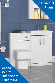 Don't bother your small space bathroom to get a trendy look. We have a compact solution now in term of  vanity units in all categories. Reach us out.  🤑 Starting From: £104.99 Only 🤑 Shop Now Here 👇  #GlossWhiteBathroom #BathroomFurniture #FloorStandingVanity #WallHungVanityUnits #ModernFurniture #HighQualityFurniture #CountertopVanityUnits #WCUnits #TallBoyUnits #BathPanels #ModernBathroom #Bathroom #RoyalBathrooms