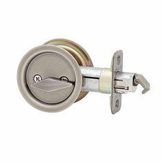 Kwikset Ultramax Round Pocket Privacy Door Lock/Antique Nickel - $20.0 – American Wood Moldings