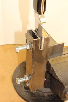 Knife Vise Knifemakers Vise Knife Making от JilesKnifeSupplies