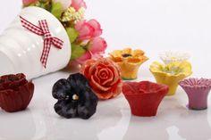 Flower resin handle contracted drawer cabinet door knob by LBFEEL, $5.50
