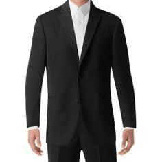 BLACK by Vera Wang Two-Button Super 130s Notch Lapel (1130)