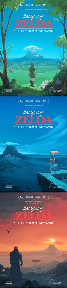 The Legend of Zelda as a Ghibli Movie