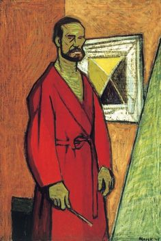 MAREK ZULAWSKI (1908-1985)  Self-Portrait (1949)