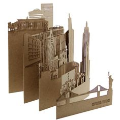 New York Postcard, Pocket-Cities - Postal New York, cities of Pocket        More on site!!!!