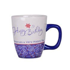 Emotion Mugs - Happy Birthday Rs. 349.00   Happy Birthday deserves a very happy day