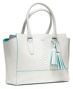 a girl can dream right?  COACH LEGACY CONTRAST EDGE PYTHON MEDIUM CANDACE CARRYALL - Shoulder Bags - Handbags & Accessories - Macys