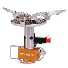 Mini Portable Camping Stove. Ideal for camping, backpacking, hiking, or other outdoor activities and survivals.