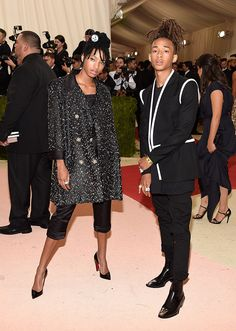 Best (& Worst) Dressed on the 2016 Met Gala Red Carpet | Willow & Jaden Smith