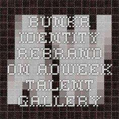 BUNKR Identity Rebrand on Adweek Talent Gallery