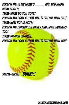 softball chants and cheers - Plasko Interactive Yahoo Image Search Results Softball Workouts, Softball Memes, Softball Uniforms, Softball Problems, Softball Pitching, Softball Bows, Softball Players, Girls Softball, Fastpitch Softball