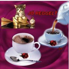 Tea Cups, Mango, Tableware, Cathedral, Album, Coffee Cup, Mugs, Good Morning, Manga