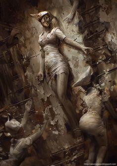 Silent Hill by Alex Negrea