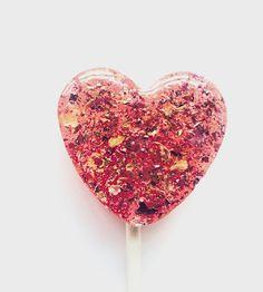 Sweet Rose & Honey Lollipops