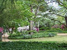 Beautiful grounds at Hopeland Gardens, Aiken, SC