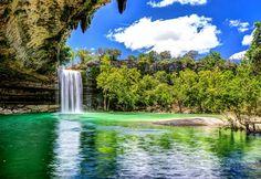 Hamilton Pool Preserve, Dripping Springs Texas