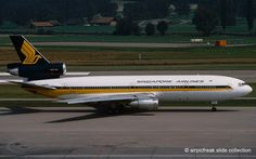 airpicfreak slide collection: Singapore Airlines Mc Donnell Douglas DC-10-30 9V-SDC