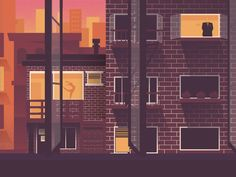 Rear window by Quentin