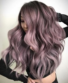 95 Inspirational Lavender Hair Color Trend , 30 Trendy Lavender Hair Ideas to Play Around with, Confession the Truth Behind the Bright or Pastel Hair Color, Vanilla Lilac Hair Color Trend Purewow, Bright Pastel Hair isn T Cool Anymore but This Color is. Lavender Hair, Lilac Hair, Pink Grey Hair, Hair Color Balayage, Ombre Hair, Guy Tang Balayage, Blonde Hair, Purple Balayage, Emo Hair
