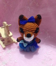 A personal favorite from my Etsy shop https://www.etsy.com/listing/229260033/crochet-amigurumi-fox-animal-kids-toy