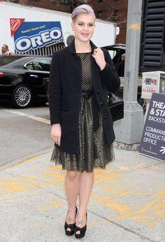 Kelly Osbourne Photo - Kelly Osbourne Heads To Badgley Mishka Fashion Show