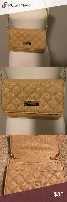 "BCBG Handbag Tan BCBG Paris small Handbag. New without tag. 4""Hx1.5""x 8""L. BCBG Bags Clutches & Wristlets"