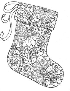 Premade set of 60 Christmas Coloring Pages, Printable, zentangle art, ornaments, gingerbread cookies, adult coloring pages, kids coloring, Xmas, non-religious holiday. Christmas Coloring Pages, Coloring Book Pages, Printable Coloring Pages, Coloring Sheets, Kids Coloring, Christmas Colors, Christmas Art, Christmas Stockings, Xmas