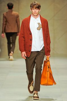 Burberry Prorsum Spring 2012 | Milan Fashion Week