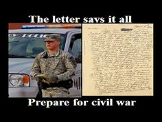The Letter that has shocked the USA !!! Can this be true ? - YouTube