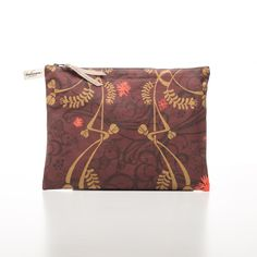 Large Pouch Louis Vuitton Monogram, Red Wine, Pouch, Outfit, Pattern, Bags, Color, Fashion, Outfits