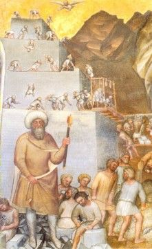 Part of a fresco by Giusto di Giovanni de Menabuoi (c.1320 - 1391) at Padua Baptistery, Padua, Italy   1376–1378