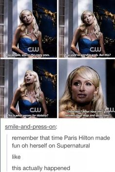 Supernatural can achieve great things. We also got Snooki to make fun of herself, don't forget.