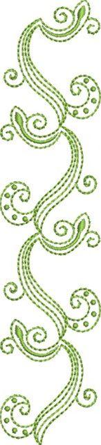 Folk Art Batik Embroidery 21  Susa Glenn Machine Embroidery Machine Embroidery