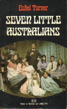 Seven Little Australians - 1974 cover