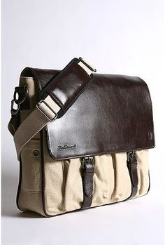 Ben Sherman Messenger....no so stuffy computer \work bag for your man