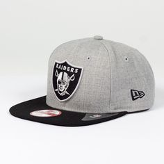 Casquette New Era 9FIFTY snapback Heather NFL Oakland Raiders   http://touchdownshop.fr/9fifty-snapback/180-casquette-new-era-9fifty-snapback-heather-nfl-oakland-raiders.html