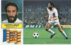 Castellanos, defensa del Valencia de los 80's y primer miembro de Standstill.