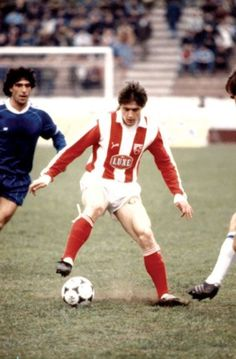 Dragan Pixie Stojkovic (Etoile Rouge Belgrade / Marseille - Yougoslavie)