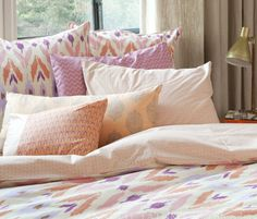 Annette Tatum Ikat Duvet set + pillows