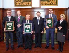 Banco de Alimentos, UJA y Asociación de la Prensa, reconocidos por sus valores constitucionales