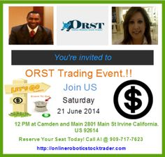 How To Invest like Warren Buffett. Special Event!!  Saturday, June 21, 2014, 12:00 PM:  Camden and Main 2801 Main St Irvine California 92614 United States