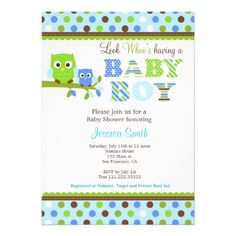 36 best owl baby shower invitations images on pinterest baby owl baby shower invitation boy filmwisefo