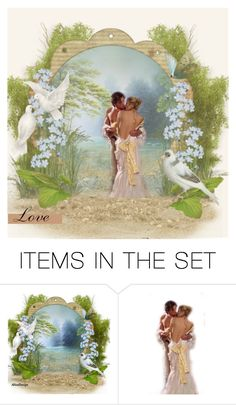 """Love Art Contest"" by the-vintage-palace2016 ❤ liked on Polyvore featuring art"
