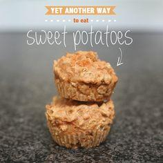 Feeding Olive: Sweet Potato Muffins