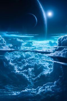 Planets and Cloud Wallpaper – Galaxy Art Planets Wallpaper, Cloud Wallpaper, Wallpaper Space, Iphone Wallpaper, Nature Wallpaper, Hd Galaxy Wallpaper, Space Planets, Space And Astronomy, Affinity Photo
