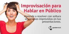 Curso de Técnicas de Improvisación para Hablar en Público