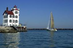 Discover Ohio's Lake Erie Lighthouses: Lorain Breakwater West Lighthouse